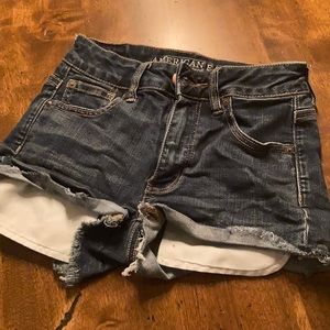 American Eagle Short-Shorts Size 0 like NEW!